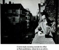 Camus (C. Cengiz evik) Tags: paris albert philosophy camus