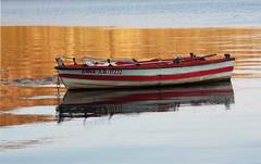 . rest little boat . (monika strataki) Tags: light lake photography evening boat greece monika northern kastoria orestiada strataki