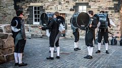 Drum Practice - Top Secret Drum Corps (FotoFling Scotland) Tags: male castle tattoo scotland uniform edinburgh edinburghcastle event esplanade topsecretdrumcorps drumpractice royaledinburghmilitarytattoo