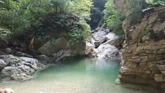 Gole del Salinello - pond (GlobalQuiz.org) Tags: gole del salinello mountains trekking