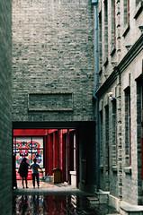 Red (katushang) Tags: china street city summer urban color building water heilongjiang daylight alley colorful 85mm  dslr fareast manualfocus harbin helios dx haerbin  2016 helios402   russianlens 85mm15 85mm d5100 nikond5100 d5100 fxlensondxcamera fullframelensoncropsensor fxlensonadxcamera helios402n