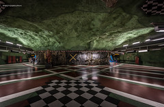 Stockholm Metro - Art 06 (jerry_lake) Tags: art underground metro sweden stockholm f56 scandi tunnelbana kungstradgarden 14mm iso2000 125sec tbahn