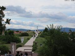 road to jesus (the_sam) Tags: road statue clouds canon jesus cano powershot veszprm powe 2016 g1x