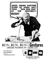1964 gestures run run run (Al Q) Tags: 1964 gestures run soma records
