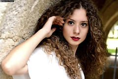 michela_DSC9408modfirma (manuele_pagani) Tags: ritratto portrait italian girl curly hair lips red fossanova outdoor