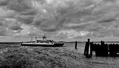 Wittow (Wunderlich, Olga) Tags: schiff rgen insel deu mecklenburgvorpommern holz wasser wolken himmel