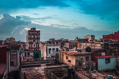 Havana Rooftops - Cuba (IV2K) Tags: havana habana lahabana cuba cuban kuba caribbean centro centrohavana centrohabana sony zeiss 35mm rooftop rooftops