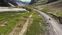 The beautiful landscapes || Ladakh, 2016 (The Canon Fanboy) Tags: ladakh leh travel greenery nature nautral lonelyplanet natgeo landscapes car automotive maruti dji djiphatom osmo phantom4
