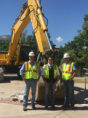 renovation of the Denver RTD Civic Center Station-21 (ARC Abatement) Tags: arcabatement denverunionstation rtd denver colorado asbestos abatement