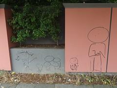 Dots In Circles (mkorsakov) Tags: dortmund city innenstadt sdstadt graffiti tagging character wtf
