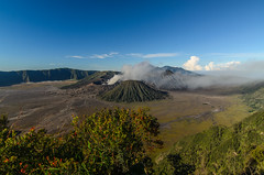Scenic Mount Bromo (narenrit) Tags: bromo mountain mist light sun sunrise cloud sky morning valcano tree view beauty hill top scenic indonesia tropical asia asian east cliff travel trip mount sapatate different village country