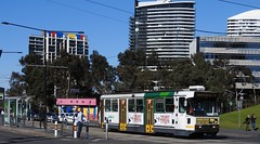 A272 on Route 70 (damos photos) Tags: a272 aclass route70 docklands yarratrams melbournetrams ptv 2016