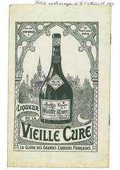 4eme de couverture des statuts de la société anonyme de la Vieille Cure (1913)
