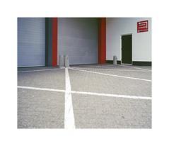lines (ha*voc) Tags: mamiya7ii 65mm rangefinder film 220 mediumformat 6x7 fujinps160 urban urbanfragments urbanabstraction abstraction hoofddorp