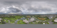 (360x180) Olympiapark Mnchen from Olympiaturm #ReTouch (Andriy Golovnya (redscorp)) Tags: clouds olympiapark munic olympiaparkmunic panorama mnchen olympiaparkmnchen olympiaturm 360 360x180 equirectangular spherical vr retouch
