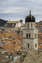 Dubrovnik roofs (davidmccrone) Tags: dubrovnik landscape city roofs rooftops terracotta red steeple church cityscape canon