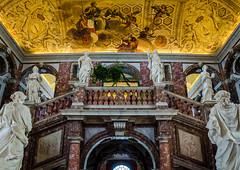 Inside drottningen (paulius.malinovskis) Tags: nikon summer sweden scandinavia drottningholm beautiful queen stockholm palace staircase royal style