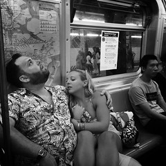 NIna (ShelSerkin) Tags: shotoniphone hipstamatic iphone iphoneography squareformat mobilephotography streetphotography candid portrait street nyc newyork newyorkcity gothamist blackandwhite
