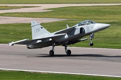39291_JAS39GripenC_SwedishAF_Malmen_Img01 (Tony Osborne - Rotorfocus) Tags: saab jas39 jas39c gripen swedish air force sweden malmen linkoping 2016
