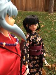 Inuyasha and Kikyo (kirasanban) Tags: inuyashaandkikyo inuyasha kikyou kikyo kikyofigure kikyodoll inuyashafigure inuyashadoll