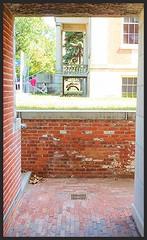 The Passage Under (JeffKWW) Tags: statenisland si snugharbor brick walkway naturallight tunnel buildiing richmond ny nyc newyorkny newyork templerow statenislandmuseum
