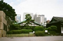 Tokyo Imperial Palace, Japan (joshua alderson) Tags: fujifilm fuji superia xtra klasse klassew tokyo imperial palace park 35mm film japan