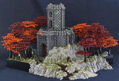 Mortag Keep (MassEditor) Tags: castle lego keep guilds historica forest landscape