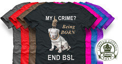 Being one of the Pit Bull breeds is not a crime, end bsl (Beverly & Pack) Tags: endbsl bsl fight antibsl breedspecificlegislation pitbull pitbulls dog puppy white luna tshirts tees montreal ban americanpitbullterrier americanstaffordshireterrier staffordshire staffie staffy mycrime beingborn sale forsale popular best noose killing euthanize muzzle sterilize hanging linching lynching discrimination hate quebec canada