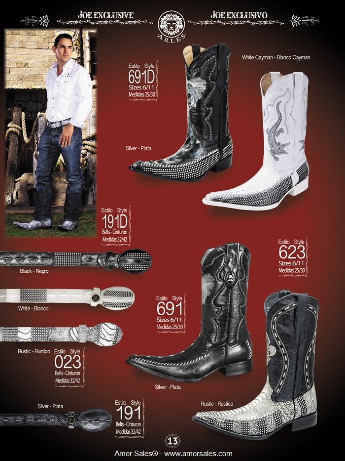 d8dc1fbf7c Botas Vaqueras y Botas Exoticas - Joe Boots - Amor Sales - 13 (Amor Sales