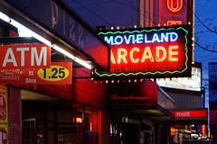 20150429-20-Neon lights Granville Street (Roger T Wong) Tags: city signs streets night vancouver neon bc britishcolumbia cbd 2015 sony2470 rogertwong sonyfe2470mmf4zaosscarlzeissvariotessart sonya7ii sonyilce7m2 sonyalpha7ii