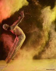 Landing (naturalturn) Tags: sanfrancisco california shirtless usa man modern dance jump jumping dancing artistic fineart aaron powder flour leap leaping moderndance image:rating=4 littleboxestheater image:id=173287 aaronsimunovich