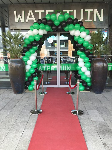 Ballonboog 7m Opening Watertuin Spijkenisse