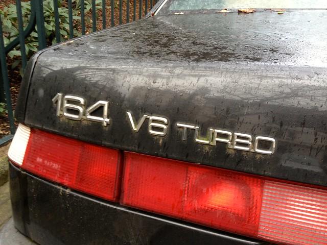 abandoned neglected turbo alfa romeo 164 1991 v6 2litre