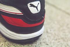 Shoe (Cyrillo Augusto) Tags: red canon shoe vermelho puma futebol sapato