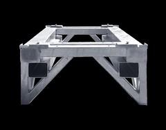 Galvanized end cap - medium (Valley Box) Tags: steel rack fixture galvanized materialhandling forkliftchannels endsealrack