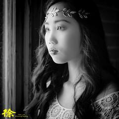 (The JH Photography) Tags: portrait blackandwhite woman building female model oldbuilding windowslight nikond600