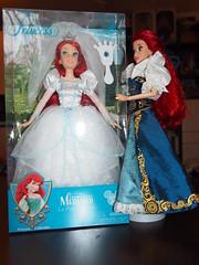 Disney Ariel (sh0pi) Tags: wedding ariel doll princess little parks disney gown mermaid petite disneystore puppe arielle kleine sirene meerjungfrau