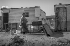 Chicken Shack (chrispenfold) Tags: africa street door people house building chicken home window metal architecture town south capetown western cape afrika shack 55 74 seller corrugated township sud afrique langa 7455