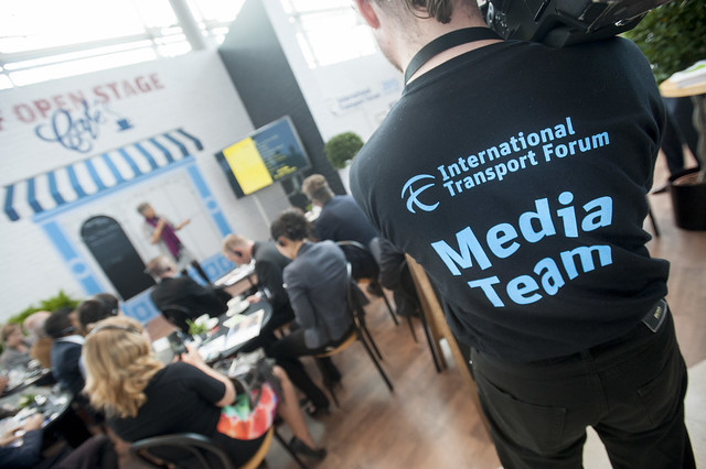 ITF Media Team in action