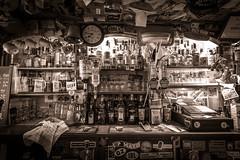 Week 16/52 - Whisky bar (Fabrice Lamarche) Tags: france bar glasses brittany bottles bretagne pays rennes verres bouteilles shelfie wesportin