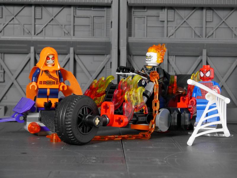 76058 Spider-Man: Ghost Rider Team-up