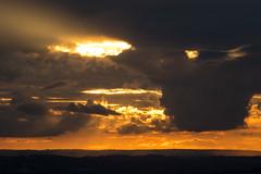 Cloudscape_8_9X7A0518 (timbertree9) Tags: westmidlands cloud clouds orange sunset burst light beams dark moody clenthills england summer sky skyline cloudsstormssunsetssunrises stormysky cloudbreaks outdoor calmbeforethestorm
