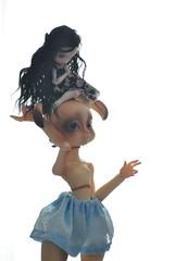 Babysitting (funkysweet) Tags: cerisedoll boo loonette lulu ooak bunny bjd lillycat msd tinycherry cartoon ws cream skin cute babysitting