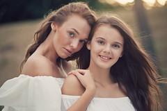 L&M (biely vlk) Tags: summer outdoor portrait girls smile people flickr