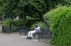 Stepney Green (SReed99342) Tags: london uk england man stepneygreen sleeping