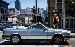 (seua_yai) Tags: sanfrancisco california street people urban usa car america automobile candid wheels thecity bayarea northamerica ragtop biturbo maserate lifeinthestreet sanfrancisco2016