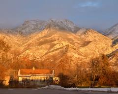 Winter Sunset (Zonnie Toledo) Tags: wasatch sunset layton ut utah greatsaltlake thurston peak