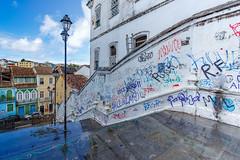 Pelourinho Graffiti, Salvador (e.w. cordon) Tags: brazil city graffiti salvador urban bahia travel ewcordon cidadealta history historical pelourinho afrobrazilian southamerica