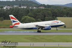 British Airways - G-EUPB - 2016.07.24 - ENZV/SVG (Pål Leiren) Tags: stavanger sola norway svg enzv flyplass airport planes plane planespotting aviation aircraft runway rw airplane canon7d 2016 airliner jet jetliner july july2016 british airways geupb britishairways airbus a319131a319 smoke rubber