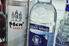 Top shelf (Roving I) Tags: tourism bottles vietnam spirits alcohol shops labels vodka beverages kmart danang conveniencestores vodkahanoi menvodka